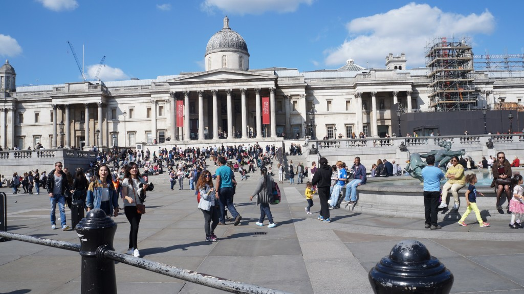 National Gallery na Trafalgar Square
