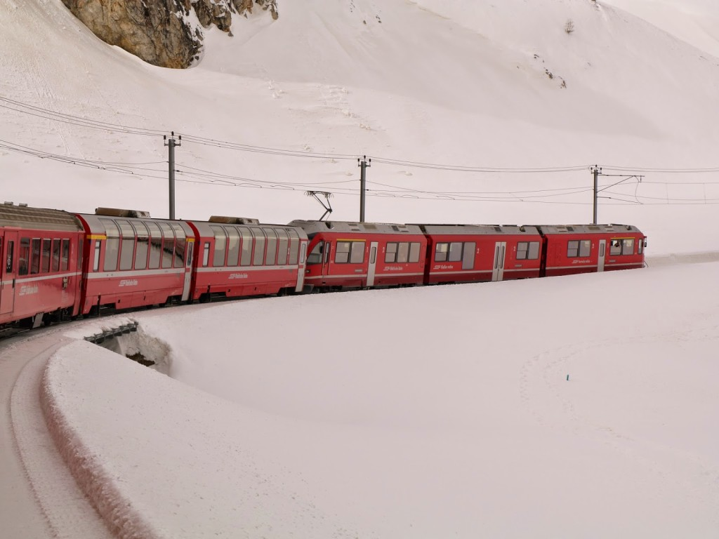 Swiss Railtour Bernina Express 113