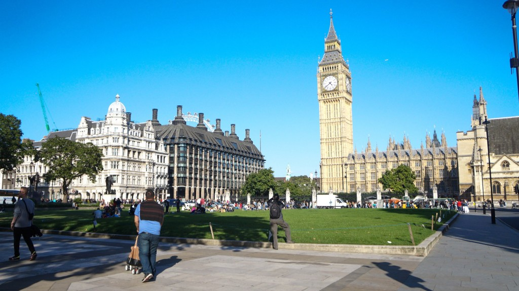 A torre do Parlamento e o Big Ben